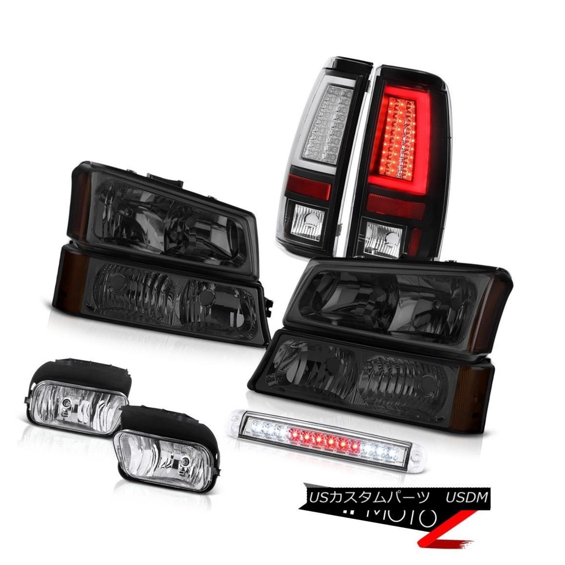 テールライト 03-06 Chevy Silverado 2500Hd Tail Lights Roof Brake Light Fog Signal Headlights 03-06 Chevy Silverado 2500Hdテールライトルーフブレーキライトフォグシグナルヘッドライト