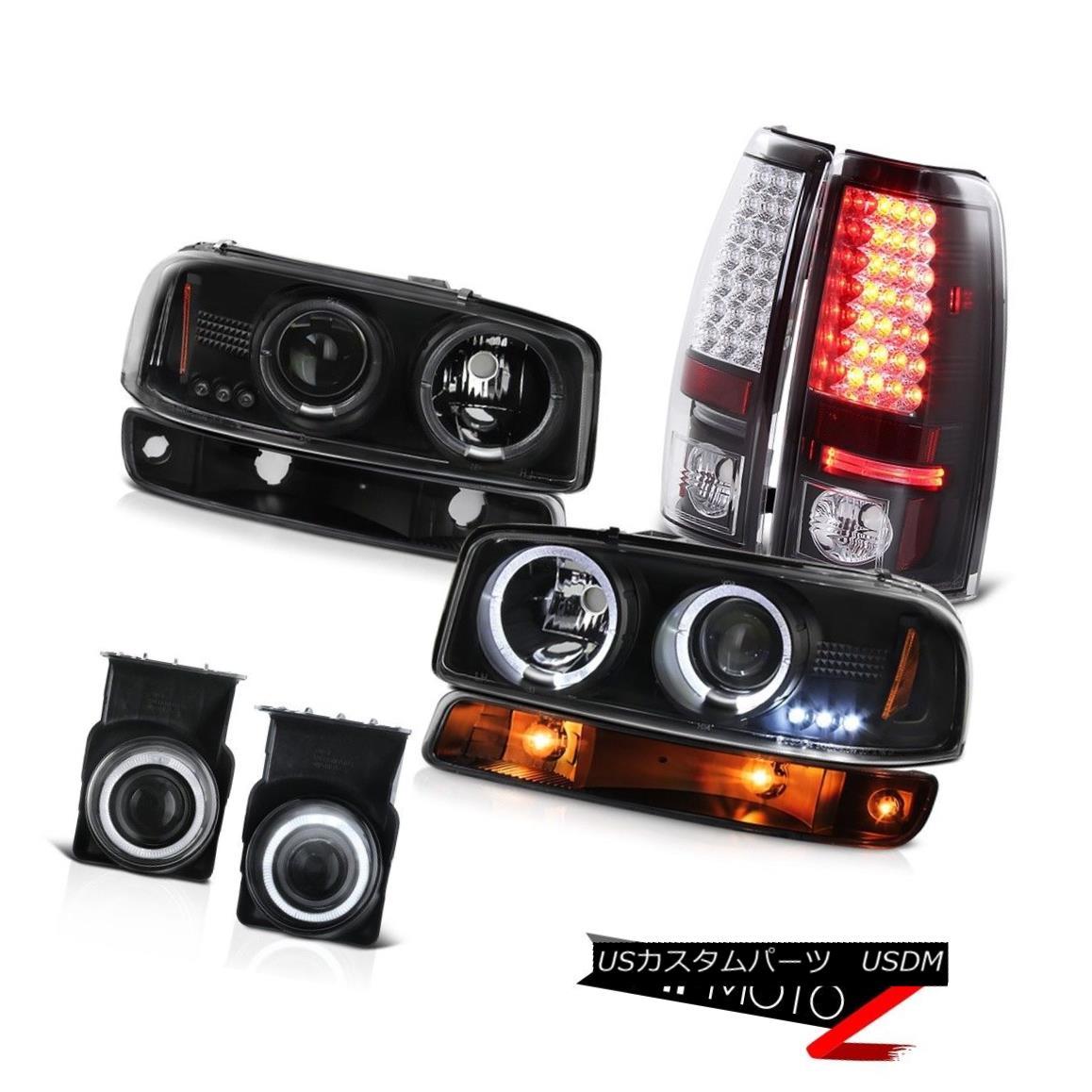 テールライト 03 04 05 06 Sierra 4.3L Euro chrome fog lamps rear brake signal light Headlights 03 04 05 06シエラ4.3Lユーロクロームフォグランプリアブレーキシグナルライトヘッドライト