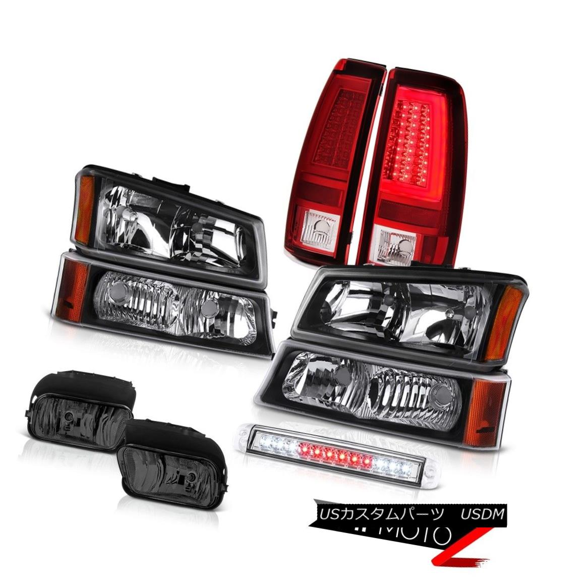 テールライト 03-06 Silverado 1500 Tail Lamps Roof Cab Lamp Fog Lights Bumper Light Headlamps 03-06 Silverado 1500テールランプルーフキャブランプフォグライトバンパーライトヘッドランプ