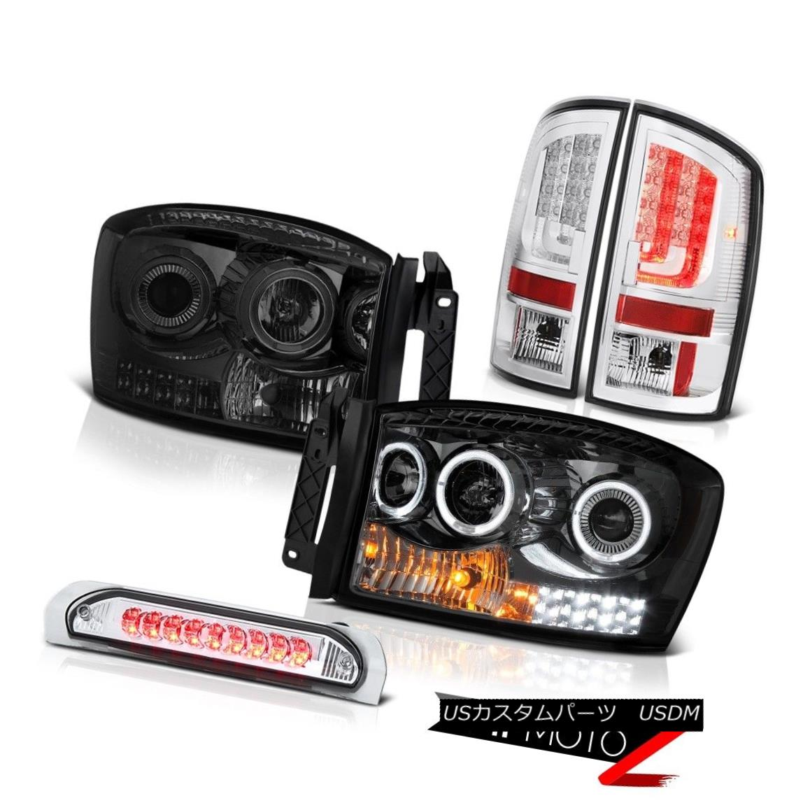 テールライト 2006 Ram 3500 Tail Lamps Headlamps Third Brake Light LED Dual Halo