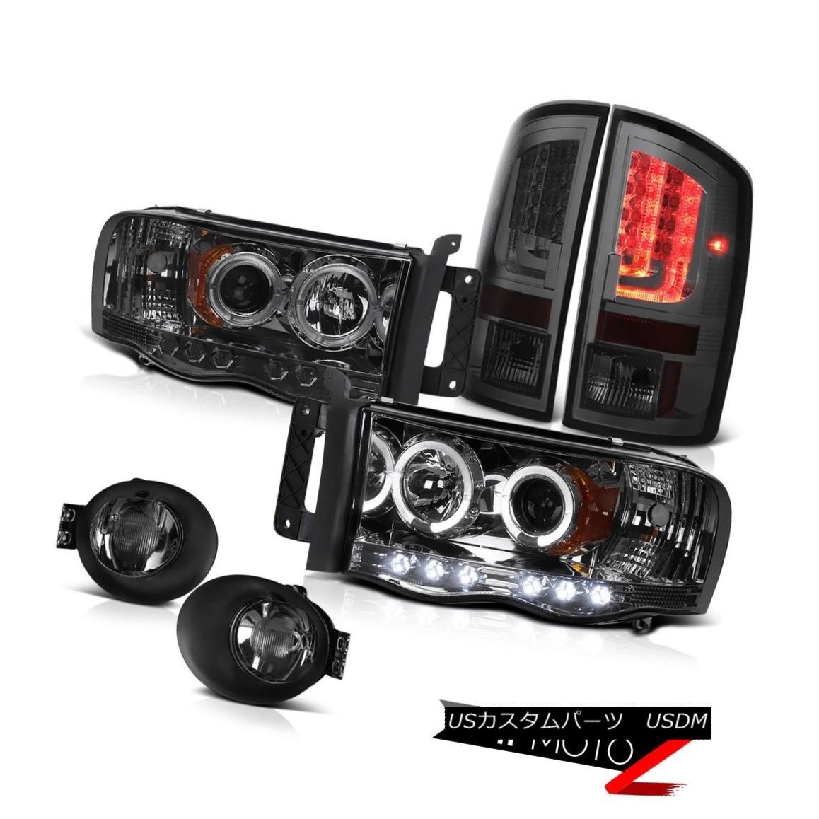 テールライト 2003-2005 Dodge Ram 2500 ST Taillights Foglights Headlamps