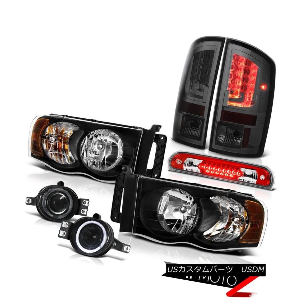 テールライト 02-05 Dodge Ram 1500 2500 5.7L Taillamps Headlamps Fog Lamps Roof Cab Light LED 02-05ダッジラム1500 2500 5.7LタイルランプヘッドランプフォグランプルーフキャブライトLED