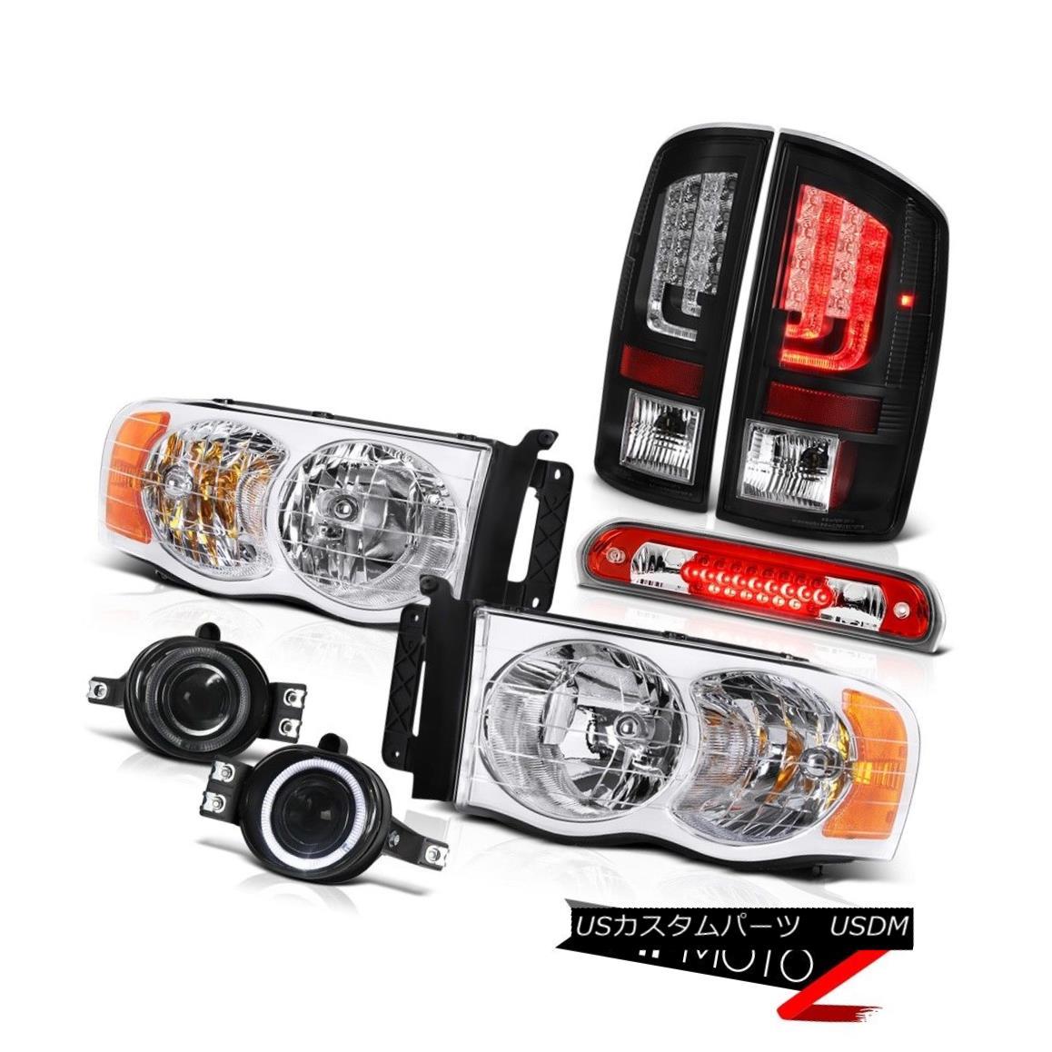テールライト 02-05 Dodge Ram 1500 2500 SLT Tail Lamps Headlights Fog Roof Cab Lamp Tron Tube 02-05ダッジラム1500 2500 SLTテールランプヘッドライトフォグルーフキャブランプトロンチューブ