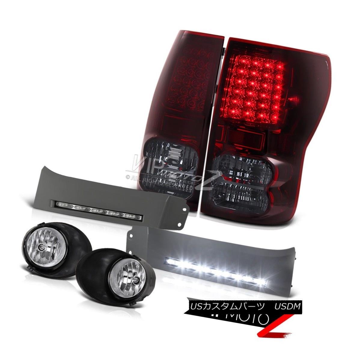 テールライト 2007-2013 Toyota Tundra LED Rear Tail Lights Front Driving Foglights Best Bumper 2007-2013 Toyota Tundra LEDリアテールライトフロントドライブフォーグライトBest Bumper