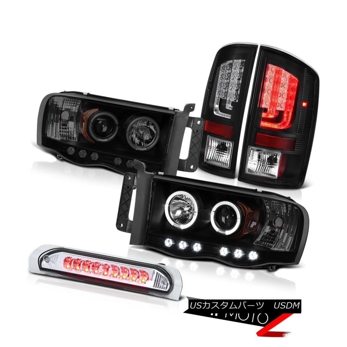 テールライト 2003-2005 Dodge Ram 3500 WS Tail Lights Headlamps Roof Cab Light