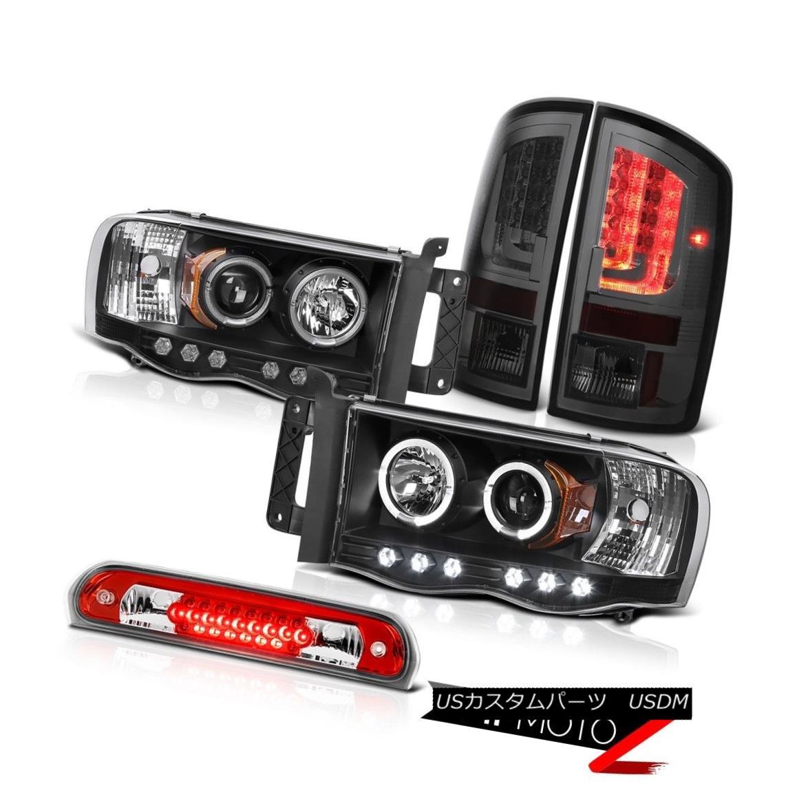 テールライト 2003-2005 Dodge Ram 1500 3.7L Taillamps Projector Headlamps Red Roof Cab Light 2003-2005ダッジラム1500 3.7Lタイルランププロジェクターヘッドランプレッドルーフキャブライト