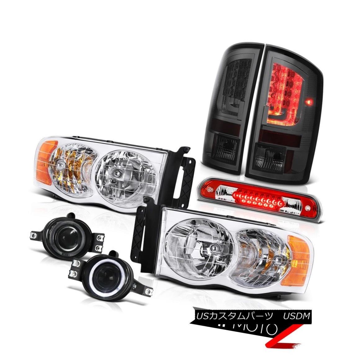 テールライト 02-05 Dodge Ram 2500 3500 ST Taillamps Headlamps Foglights Third Brake Lamp LED 02-05 Dodge Ram 2500 3500 ST Taillampsヘッドランプフォグライト第3ブレーキランプ