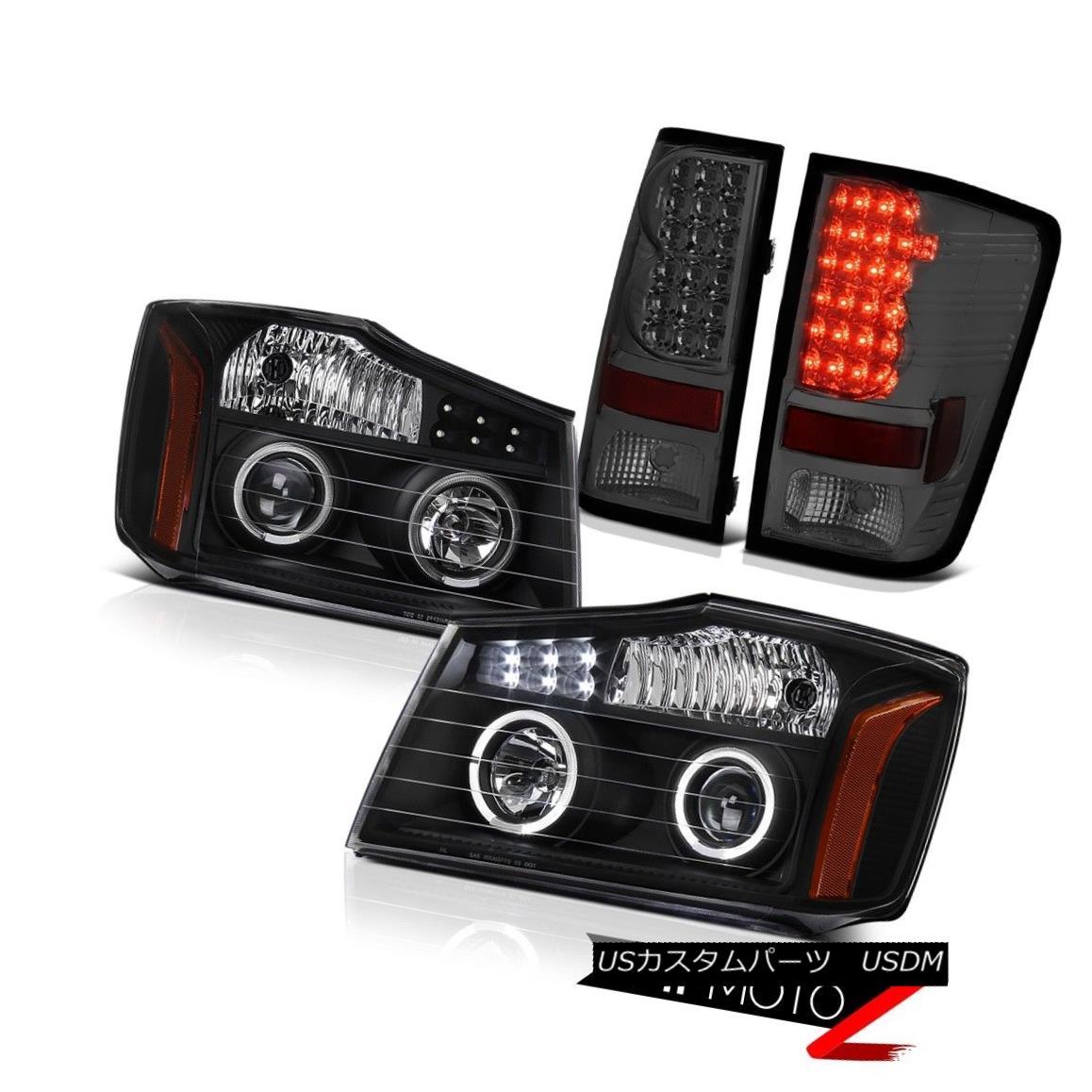 テールライト For 2004-2015 09 10 11 12 13 2015 Titan SV LED Projector Headlight Tail Light 2004?2015年09 10 11 12 13 2015 Titan SV LEDプロジェクターヘッドライトテールライト