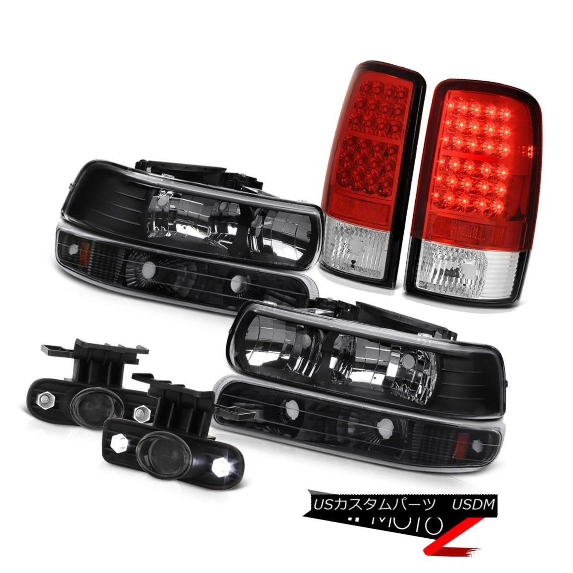 テールライト 00 01 02 03 04 05 06 Suburban 1500 Headlights Bumper Brake Lights Projector Fog 00 01 02 03 04 05 06郊外1500ヘッドライトバンパーブレーキライトプロジェクターフォグ