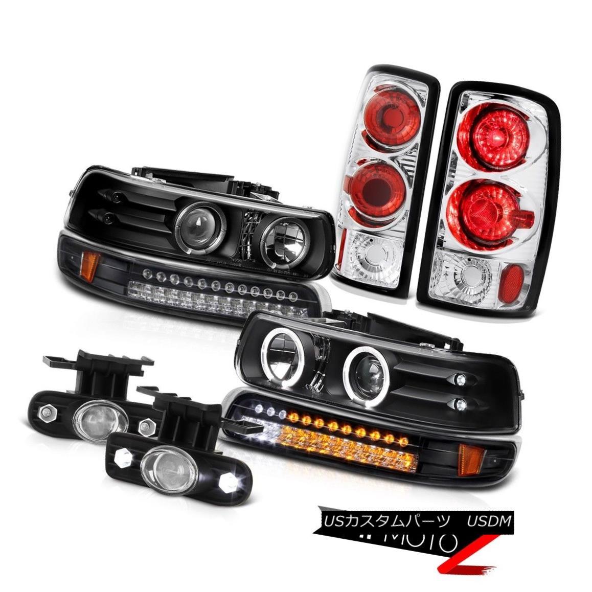 テールライト 00 01 02 03 04 05 06 Suburban 5.7L Headlight LED Brake Tail Lights Projector Fog 00 01 02 03 04 05 06郊外5.7LヘッドライトLEDブレーキテールライトプロジェクターフォグ