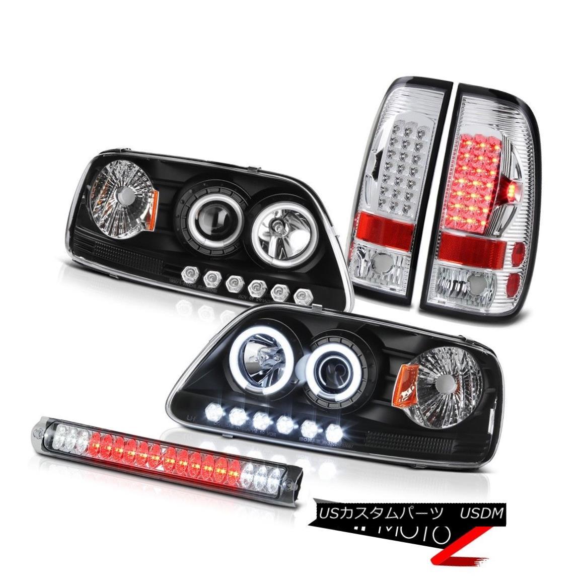 テールライト CCFL Angel Eye Headlight Brake Lamp Tail Light Third LED F150 SVT 2001 2002 2003 CCFLエンジェルアイヘッドライトブレーキランプテールライト第3 LED F150 SVT 2001 2002 2003