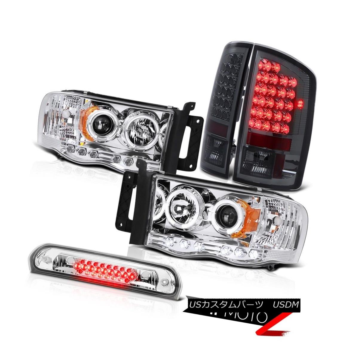 テールライト L.E.D Halo Headlights Signal Tail Light Euro Brake LED 02 03 04 05 Ram PowerTech L.E.D HaloヘッドライトシグナルテールライトユーロブレーキLED 02 03 04 05 Ram PowerTech