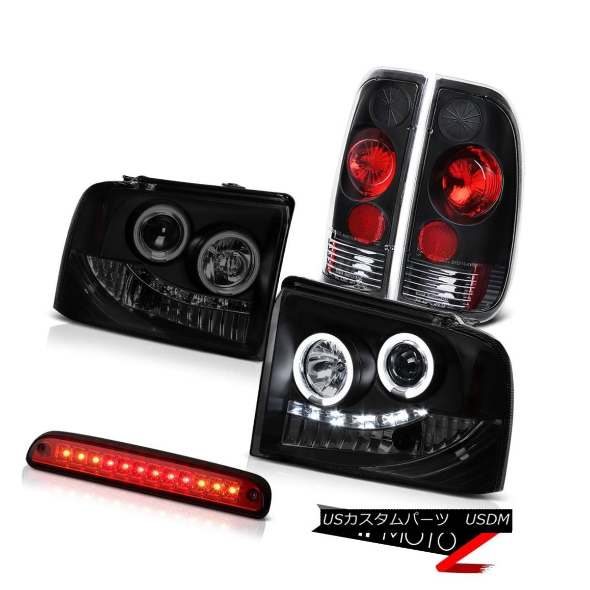 テールライト Brightest CCFL Halo Headlights Tail Brake Lights Roof LED 05-07 F250 TurboDiesel 最も明るいCCFLハローヘッドライトテールブレーキライトルーフLED 05-07 F250 TurboDiesel