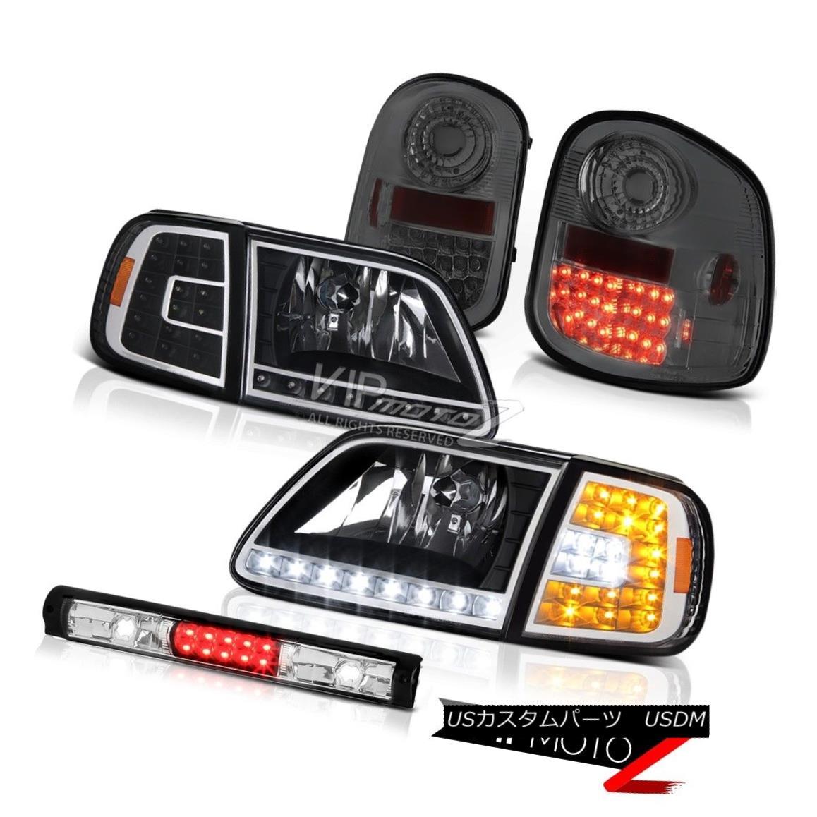 テールライト Bumper SMD Headlights Smoke LED Taillights 3rd 97-03 F150 Flareside Lightning バンパーSMDヘッドライト煙LEDテールライト第3回97-03 F150 Flareside Lightning