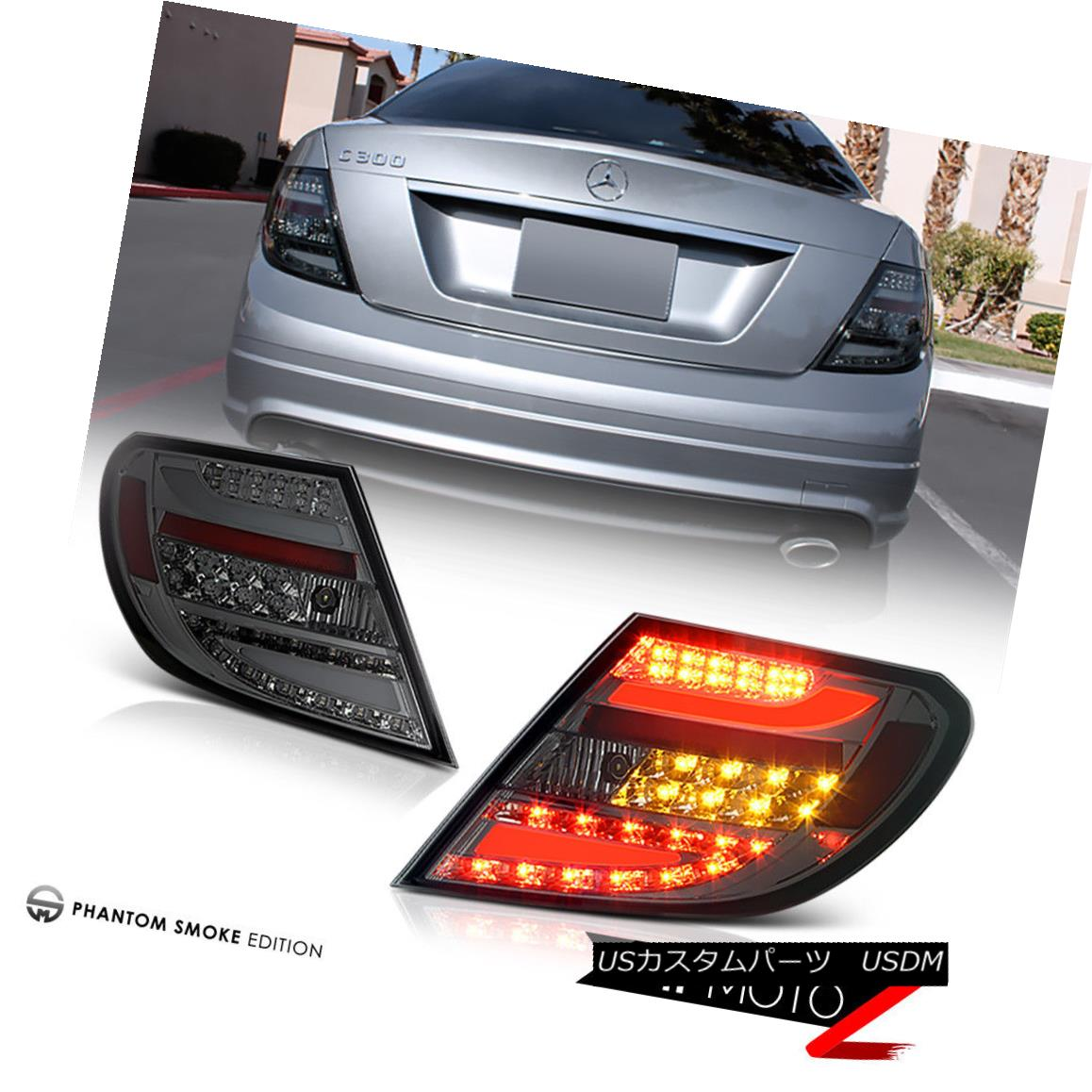 テールライト 08-10 M-Benz W204 C-Class C300 C350 C63 SMOKE LED Brake Signal Lamp Tail Light 08-10 MベンツW204 CクラスC300 C350 C63 SMOKE LEDブレーキ信号ランプテールライト