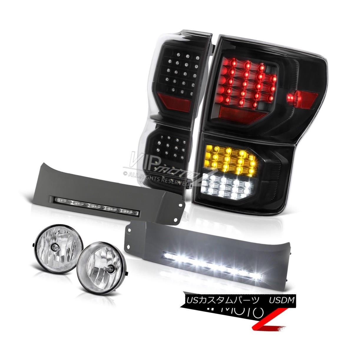 テールライト 2007-2013 Toyota Tundra Platinum Taillamps DRL Strip Fog Lights LED
