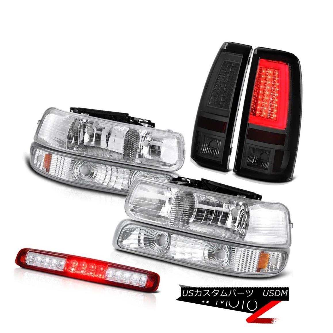 テールライト 99-02 Silverado 4WD Taillamps Headlights Bumper Lamp 3rd Brake Light Assembly 99-02 Silverado 4WDタイヤランプヘッドライトバンパーランプ第3ブレーキライトアセンブリ
