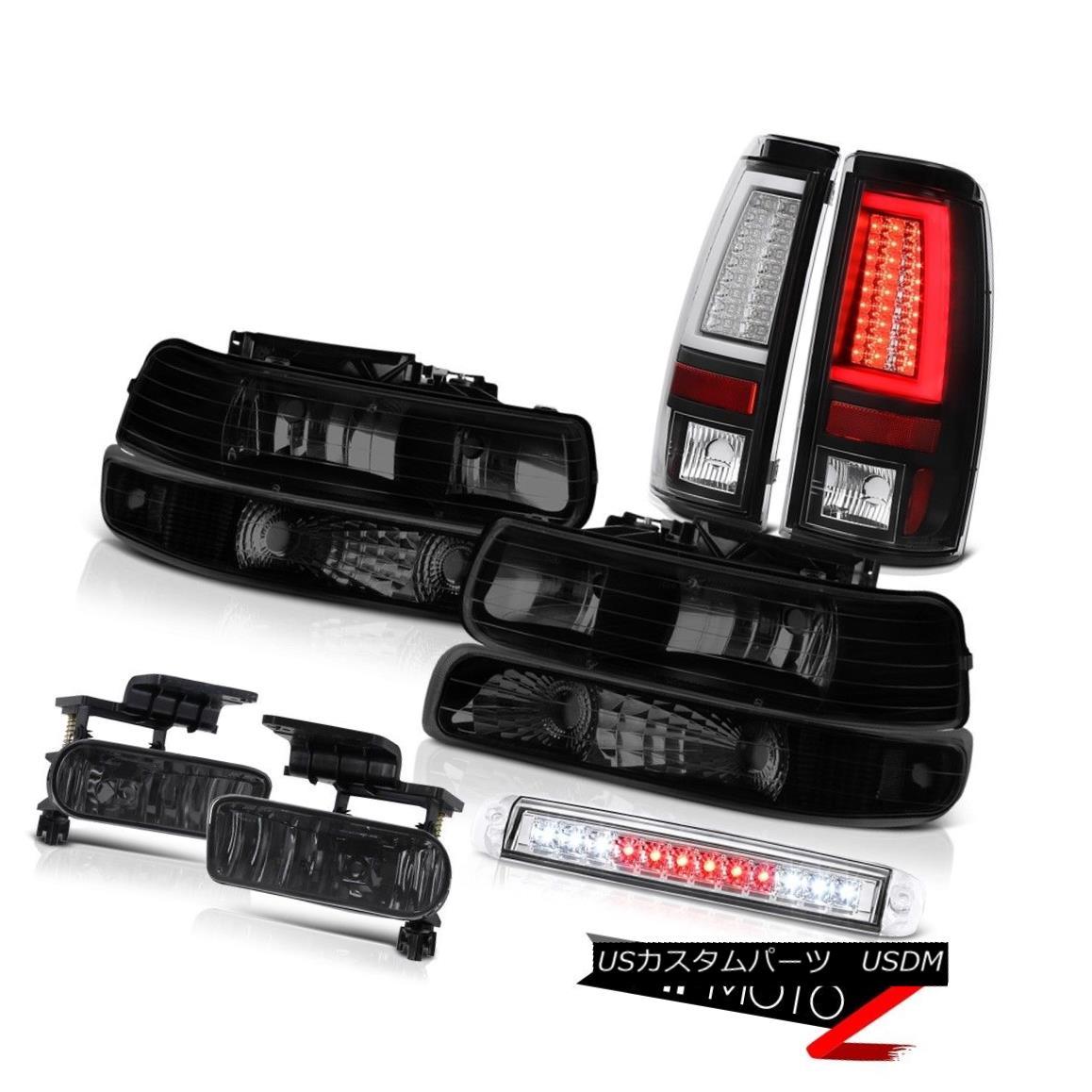 テールライト 1999-2002 Silverado 2500HD Tail Brake Lights Headlamps Bumper Roof Cab Light Fog 1999-2002 Silverado 2500HDテールブレーキライトヘッドランプバンパールーフキャブライトフォグ