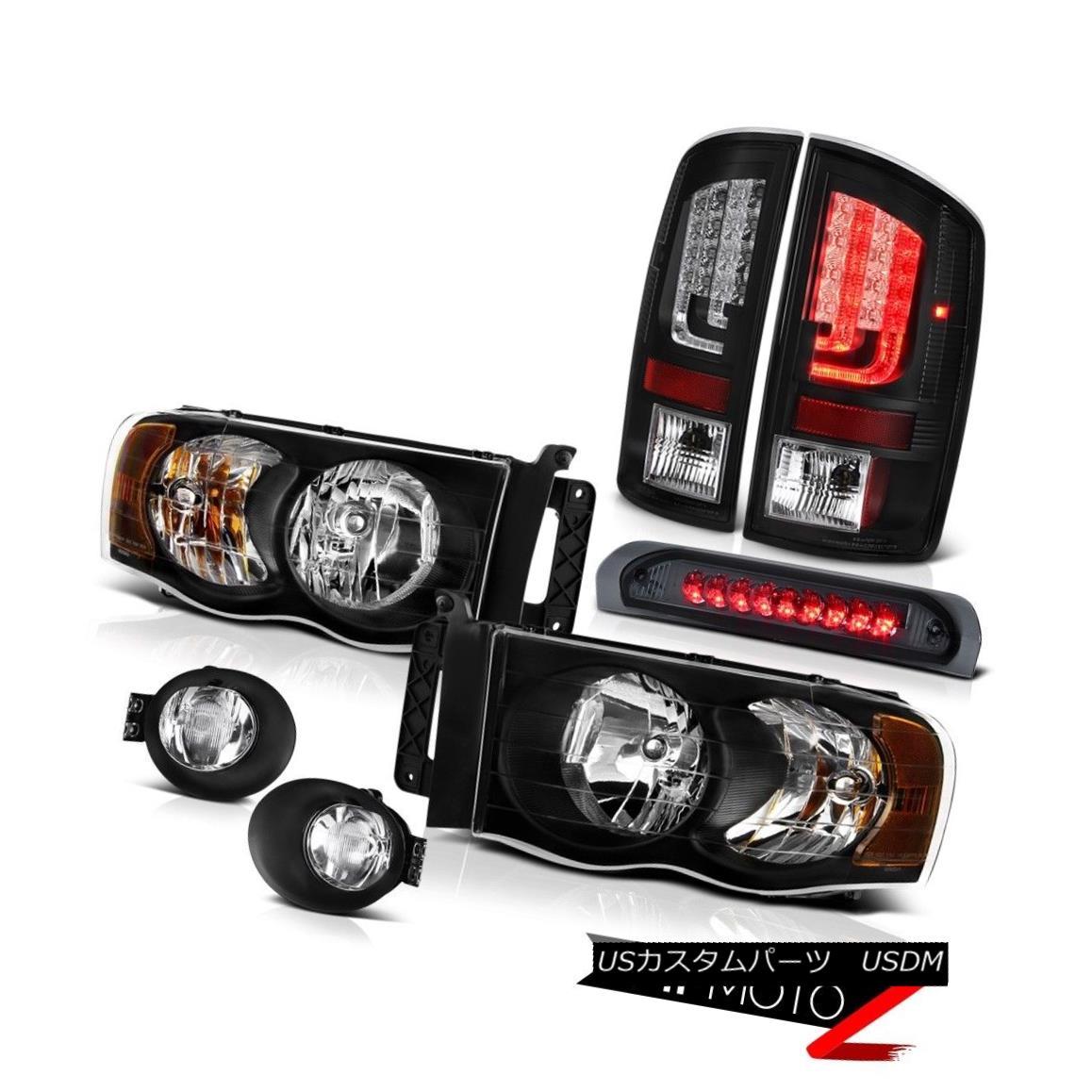 テールライト 02-05 Dodge Ram 1500 2500 SLT Rear Brake Lamps Foglamps Headlamps High STop Lamp 02-05 Dodge Ram 1500 2500 SLTリアブレーキランプフォグランプヘッドランプハイSTOPランプ