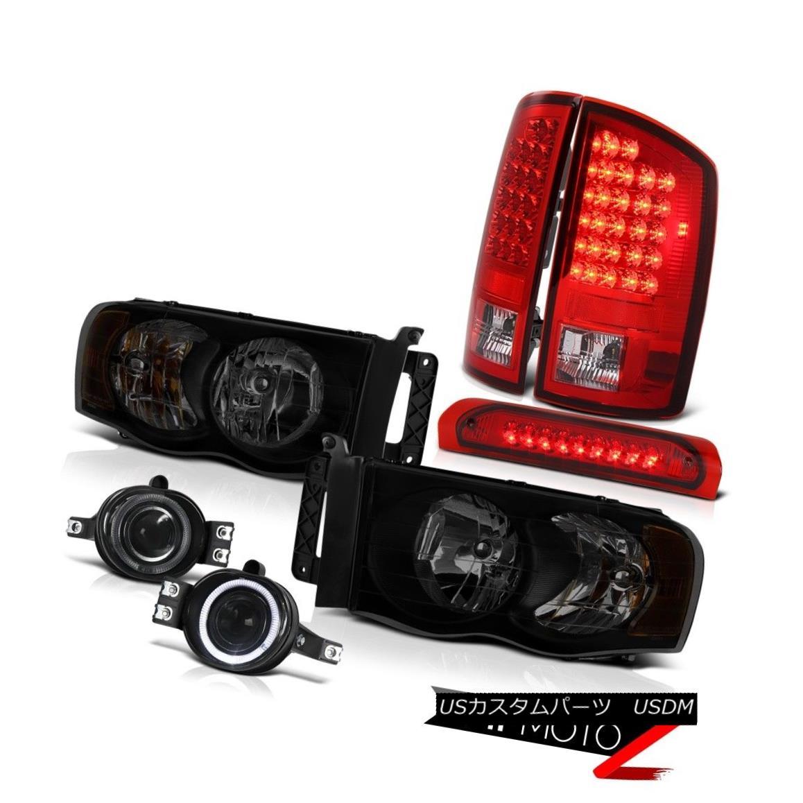 テールライト 02-05 Ram 1500 2500 3500 5.7L Headlights Fog Lights Roof Cargo Lamp Tail Lamps 02-05 Ram 1500 2500 3500 5.7Lヘッドライトフォグライトルーフカーゴランプテールランプ
