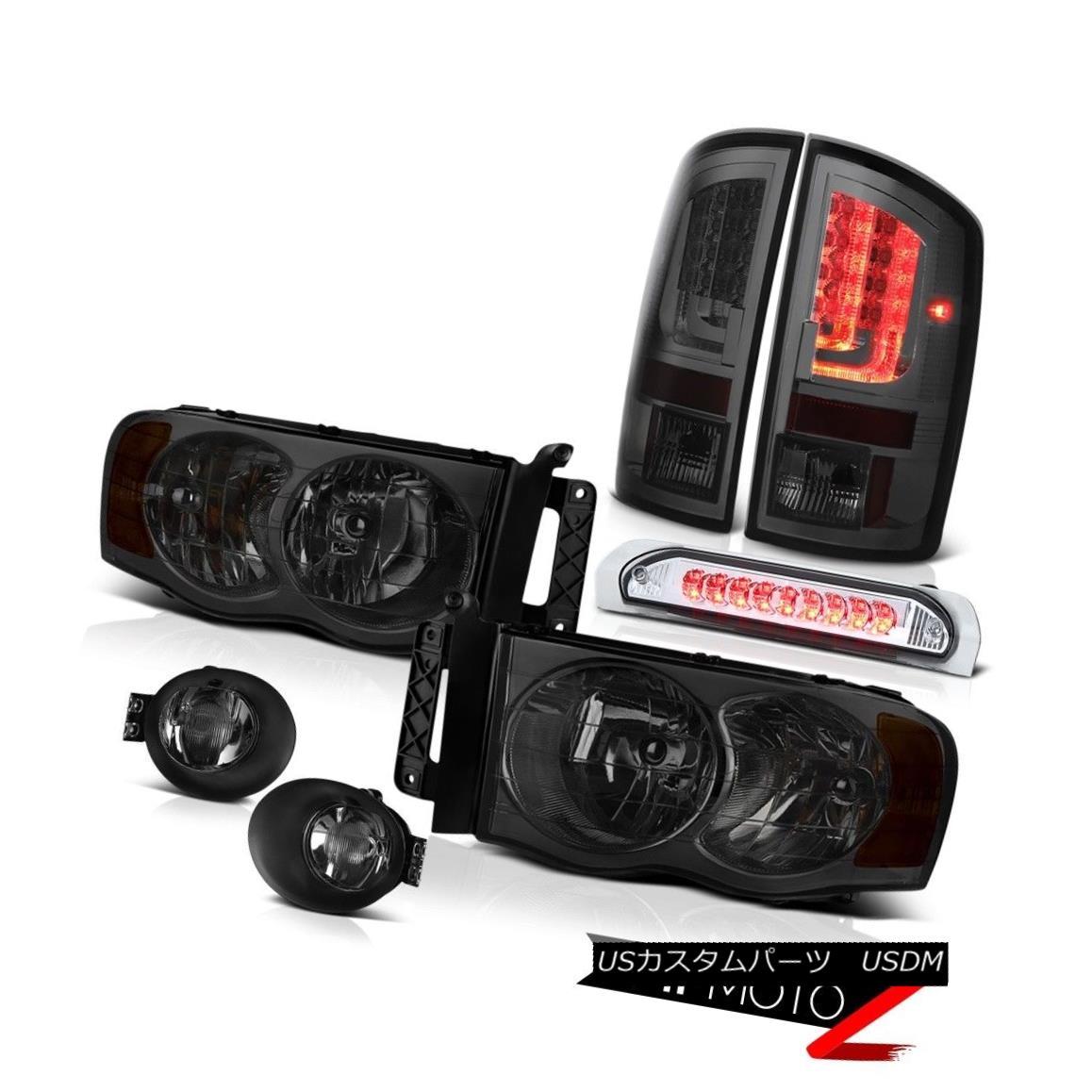 テールライト 02-05 Ram 1500 2500 3500 5.7L Tail Lights Foglights Headlamps Roof Cargo Lamp 02-05 Ram 1500 2500 3500 5.7Lテールライトフォグライトヘッドランプ屋根貨物ランプ