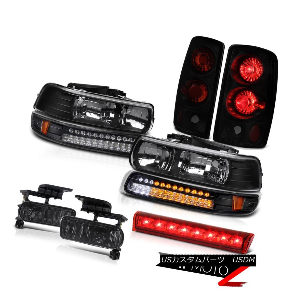 テールライト 00-06 Chevy Suburban 4X4 Headlights signal light tail lights foglights roof cab 00-06シボレー郊外4X4ヘッドライト信号ライトテールライトフォグライトルーフキャブ