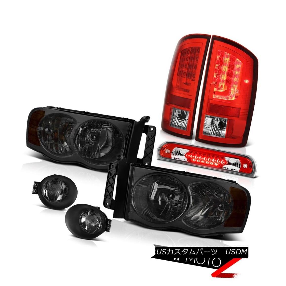 テールライト 2003-2005 Dodge Ram 1500 3.7L Taillamps Fog Lamps Headlamps Roof Cab Lamp LED 2003-2005ダッジラム1500 3.7LタイルランプフォグランプヘッドランプルーフキャブランプLED