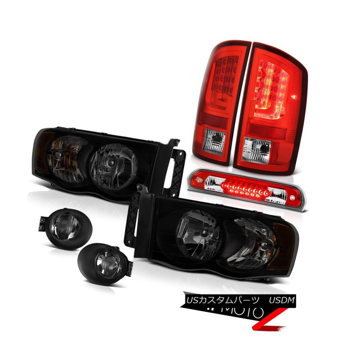 テールライト 2002-2005 Dodge Ram 1500 ST Tail Lights Smoked Foglamps Headlamps Roof Cab Lamp 2002-2005 Dodge Ram 1500 STテールライトスモークフォグランプヘッドランプルーフキャブランプ