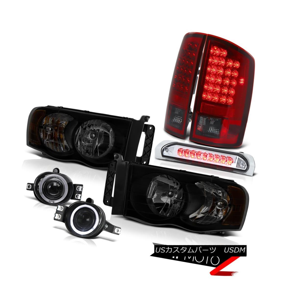 テールライト 02-05 Ram 1500 2500 3500 Turbodiesel Headlights Fog Lamps High Stop Lamp Tail 02-05 Ram 1500 2500 3500 Turbodieselヘッドライトフォグランプハイストップランプテール