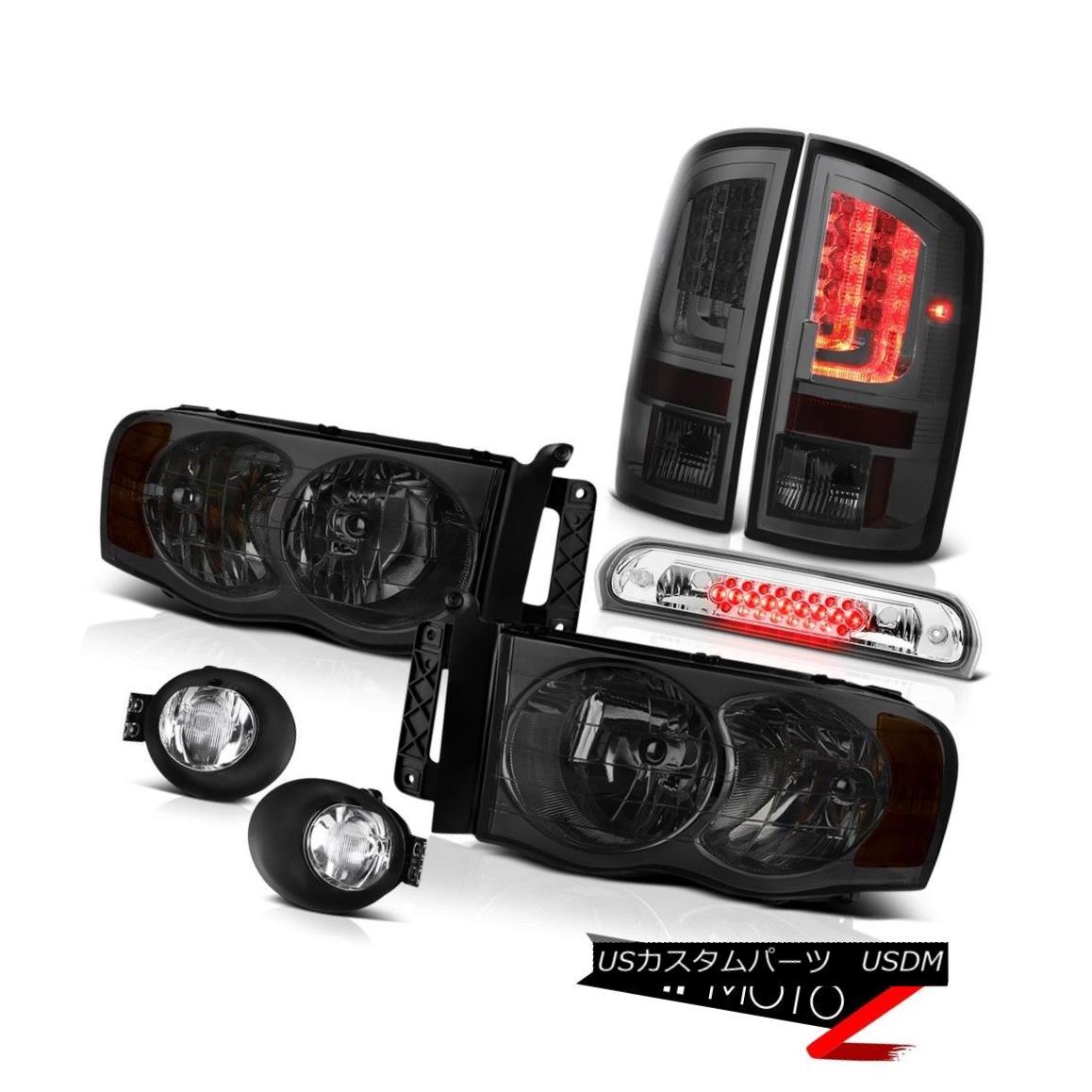 テールライト 02-05 Dodge Ram 2500 3500 SLT Tail Lamps Fog Headlamps High STop Lamp OLED Prism 02-05 Dodge Ram 2500 3500 SLTテールランプ曇りヘッドランプHigh STOPランプOLED Prism