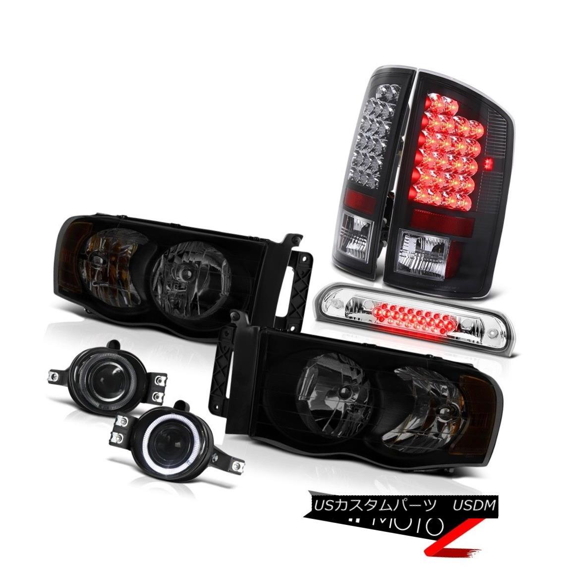 テールライト 02-05 Ram 1500 2500 3500 3.7L Headlamps Foglamps Third Brake Lamp Taillamps SMD 02-05 Ram 1500 2500 3500 3.7Lヘッドランプフォグランプ第3ブレーキランプタイルランプSMD