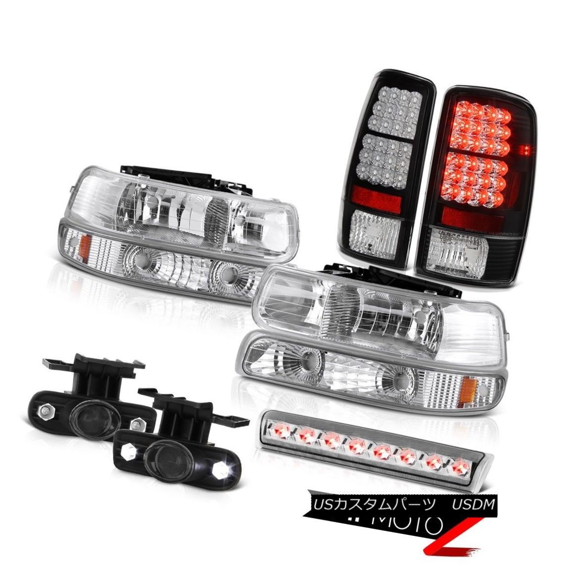 テールライト 2000-2006 Chevy Suburban LS Chrome roof cargo light fog lights tail Headlamps 2000-2006シボレー郊外LSクロームルーフカーゴライトライトフォグライトテールヘッドランプ
