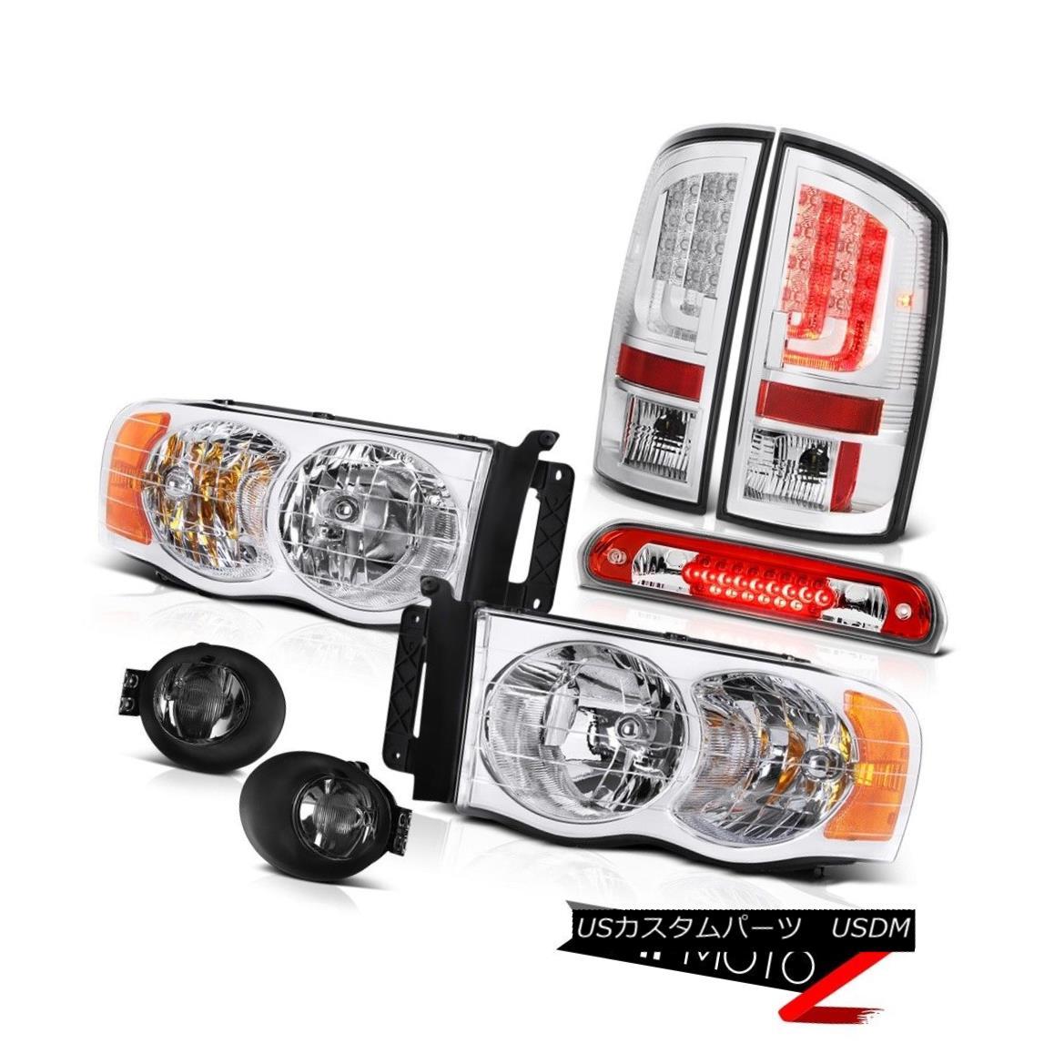 テールライト 02-05 Dodge Ram 1500 1500 3.7L Tail Lamps Foglights Headlights High STop Light 02-05 Dodge Ram 1500 1500 3.7LテールランプFoglightsヘッドライトHigh STOPライト
