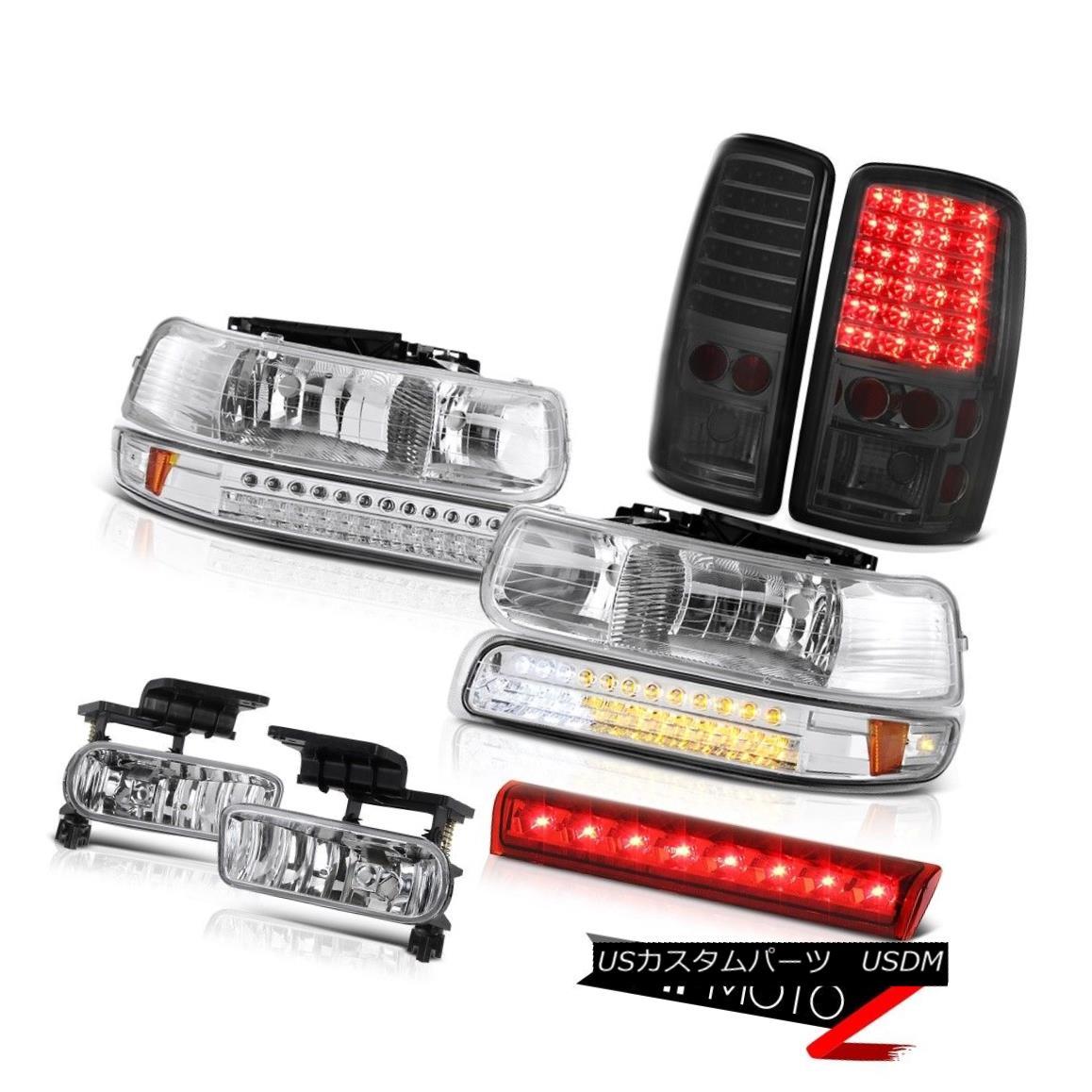 テールライト 2000-2006 Chevy Suburban 4X4 Third brake lamp fog lights taillights headlights 2000-2006シボレー郊外4X4第3ブレーキランプフォグライトテールライトヘッドライト