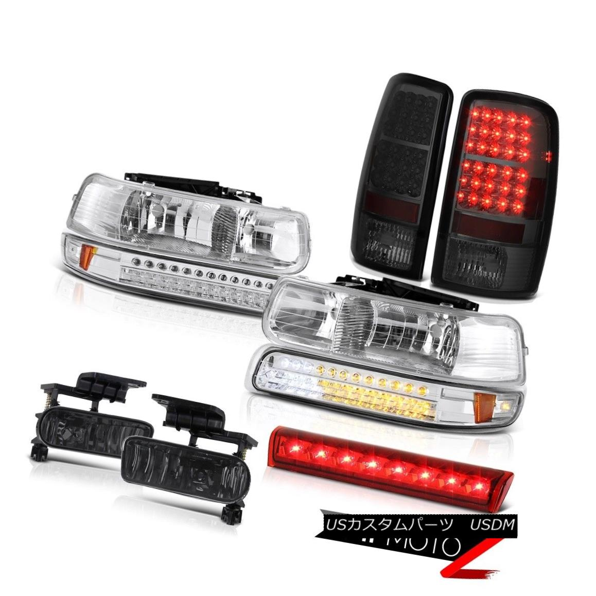 テールライト 2000-2006 Suburban 2500 Z71 Rosso red roof brake lamp fog lights tail Headlamps 2000-2006郊外2500 Z71ロッソ赤い屋根のブレーキランプ霧ライトテールヘッドランプ