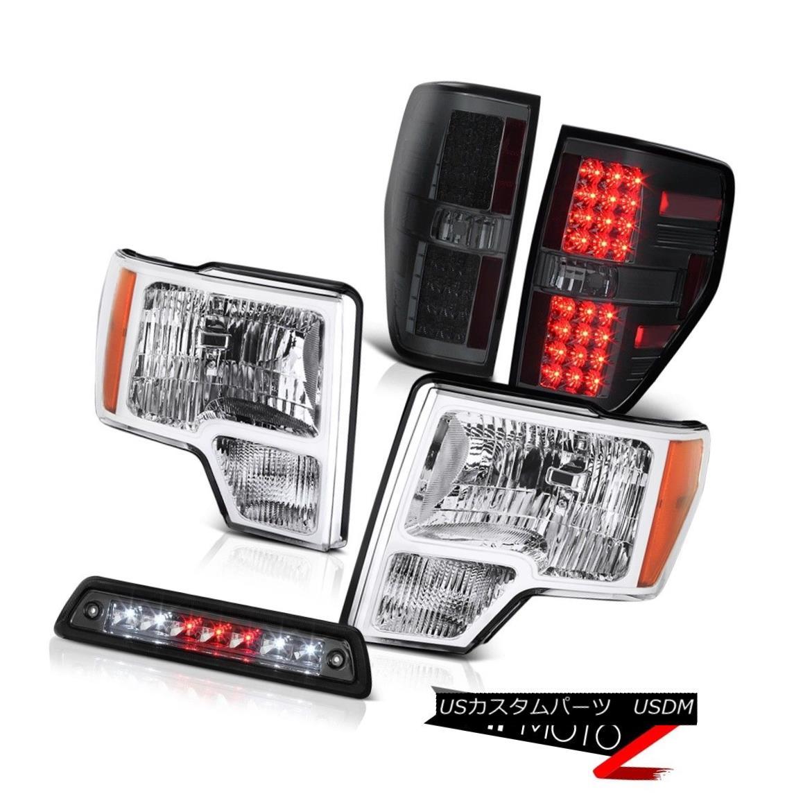 テールライト 2009-2014 F150 HARLEY DAVIDSON High stop lamp taillights headlamps Replacement 2009-2014 F150ハーレーダビドンハイストップランプテールライトヘッドランプ交換