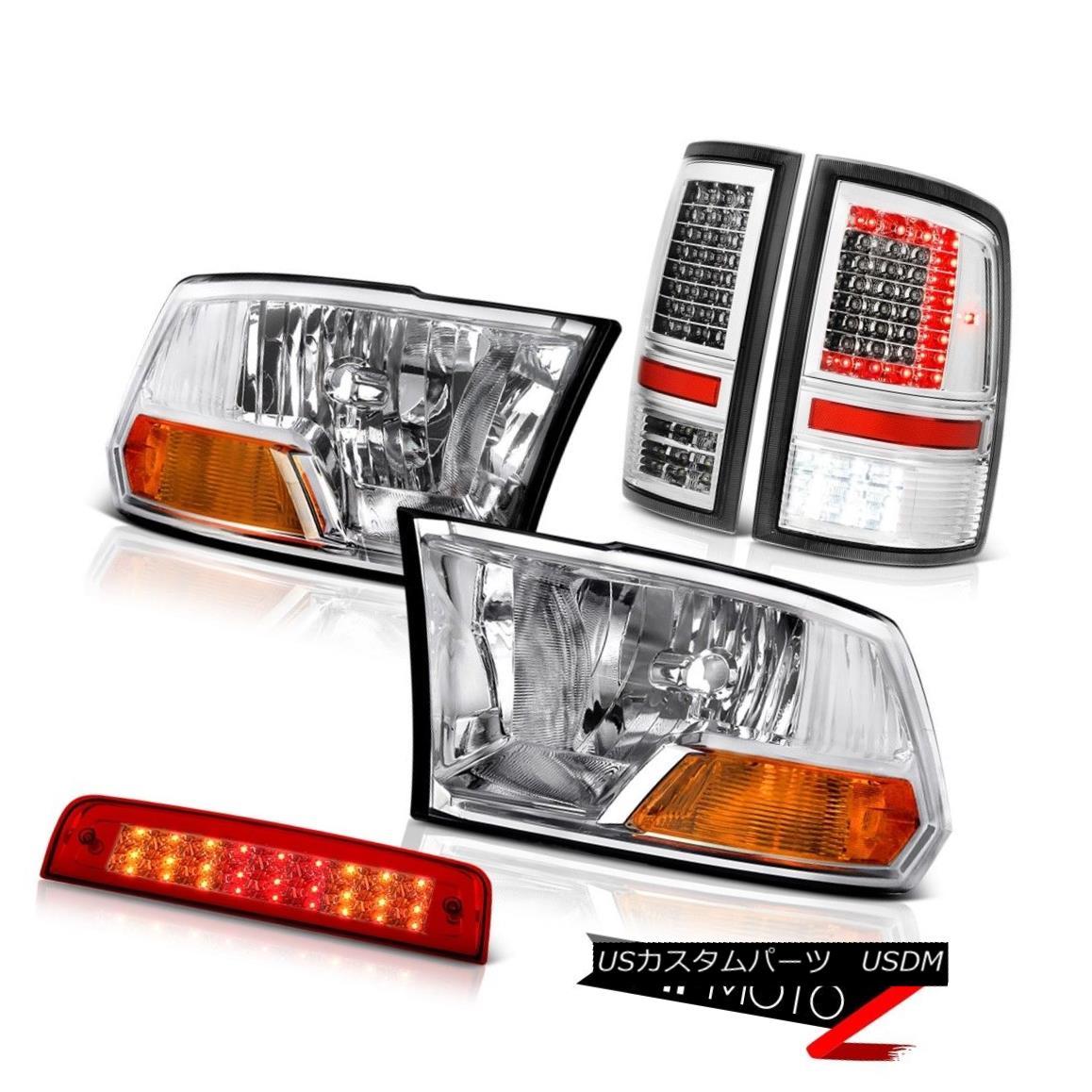 テールライト 10 12 13 14 15 16-18 Dodge RAM 2500 Tail Lights 3rd Brake Factory Style Headlamp 10 12 13 14 15 16-18 Dodge RAM 2500テールライト3rdブレーキ工場スタイルヘッドライト