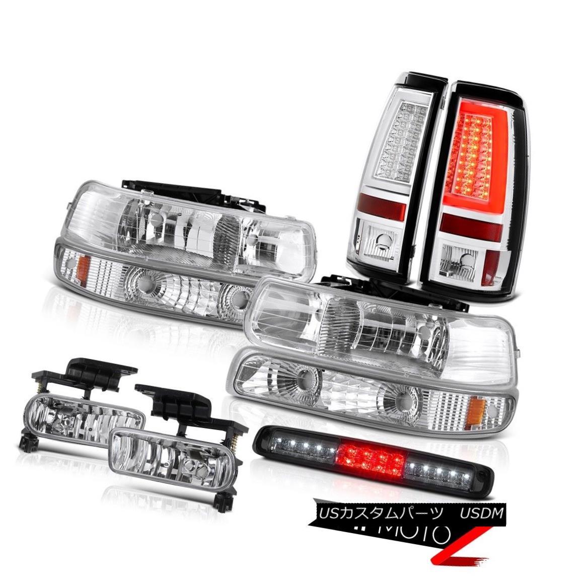 テールライト 99-02 Silverado LT Tail Lamps Roof Cargo Light Headlamps Foglights Tron Style 99-02 Silverado LTテールランプ屋根貨物ライトヘッドランプFoglights Tronスタイル