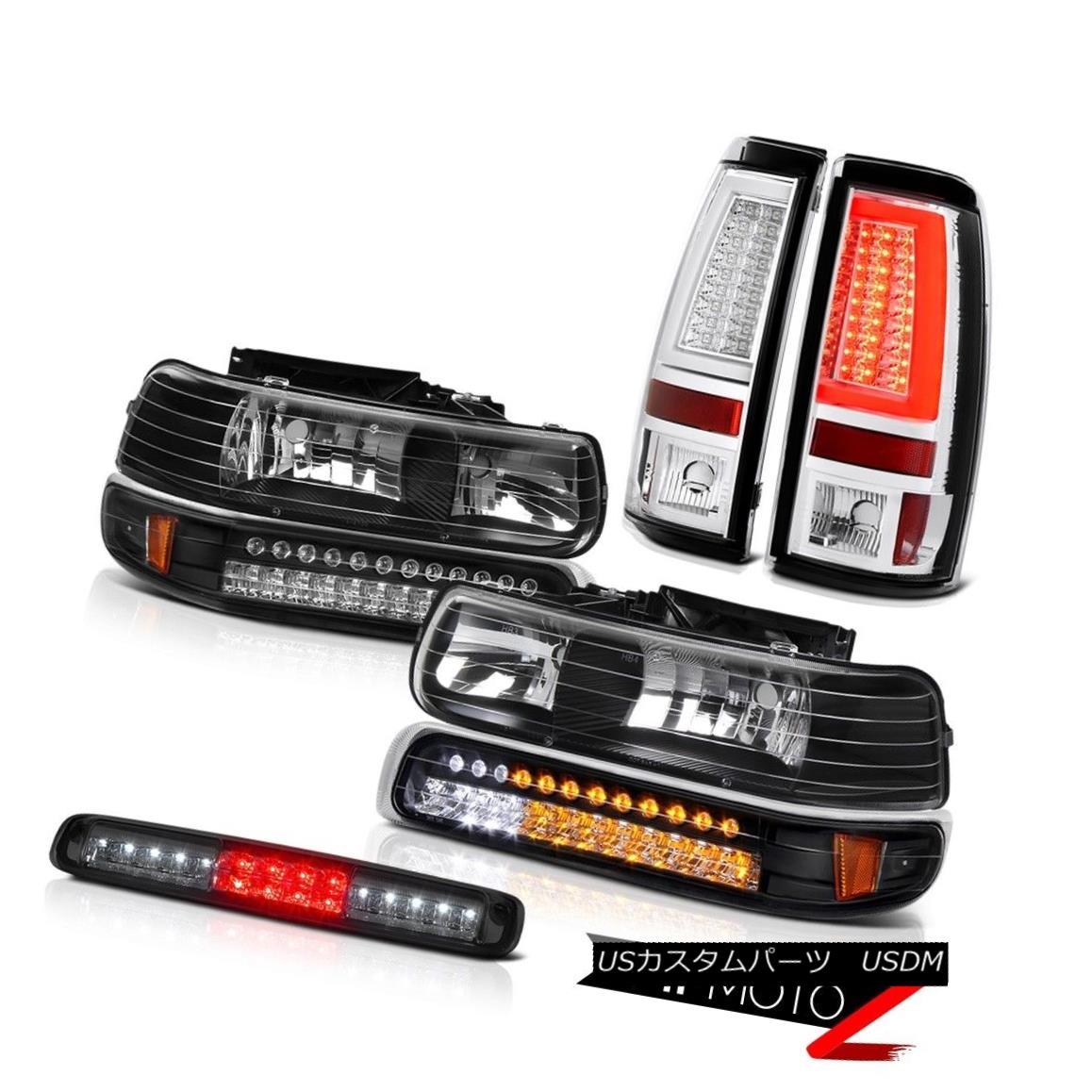 テールライト 99 00 01 02 Silverado 1500 Taillamps High Stop Light Headlights OLED Neon Tube 99 00 01 02 Silverado 1500 TaillampsハイストップライトヘッドライトOLEDネオンチューブ