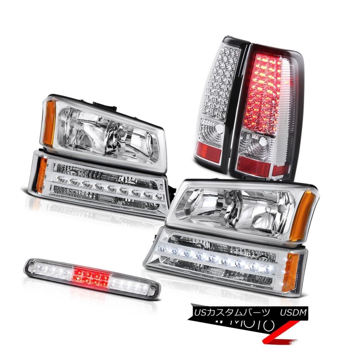 テールライト 03 04 05 06 Silverado High Stop Lamp Headlamps Signal Light Tail Lights LED SMD 03 04 05 06 Silveradoハイストップランプヘッドランプ信号ライトテールライトLED SMD