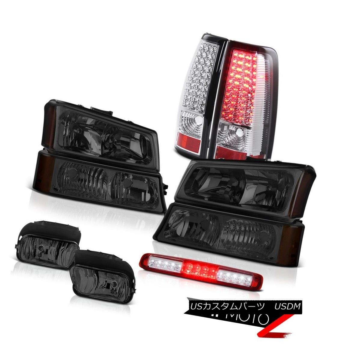 テールライト 03 04 05 06 Silverado Headlights Fog Lights Red Roof Cargo Light Chrome Tail 03 04 05 06 Silveradoヘッドライトフォグライトレッドルーフカーゴライトクロームテール