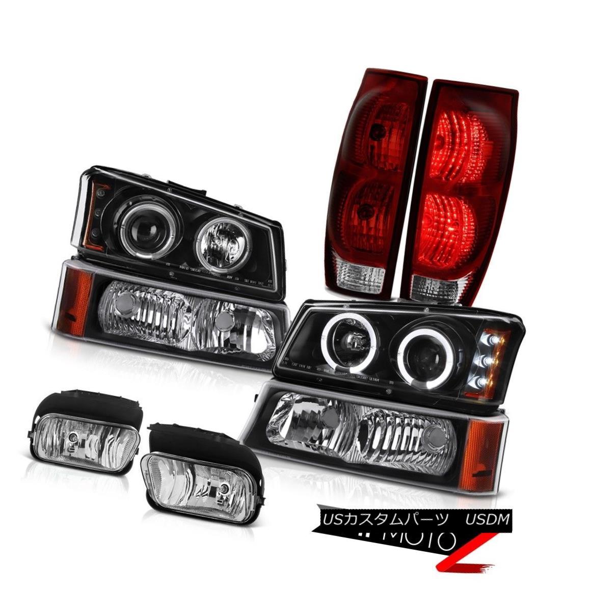 テールライト 2003-2006 Avalanche 1500 Foglamps Smoked Red Tail Lamps Signal Light Headlamps 2003-2006雪崩1500 Foglampsスモークテールランプシグナルライトヘッドランプ