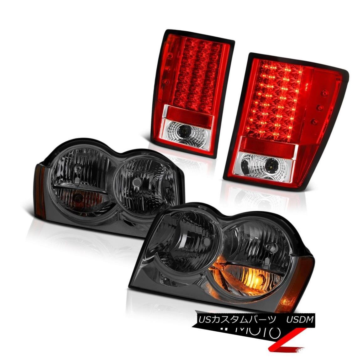 テールライト 05-06 Jeep Grand Cherokee Limited Headlights Tail Lamps LED SMD
