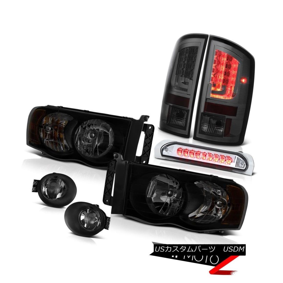 テールライト 02-05 Dodge Ram 2500 3500 SLT Tail Lamps Foglights Headlights Roof Brake Lamp 02-05 Dodge Ram 2500 3500 SLTテールランプフォグライトヘッドライトルーフブレーキランプ