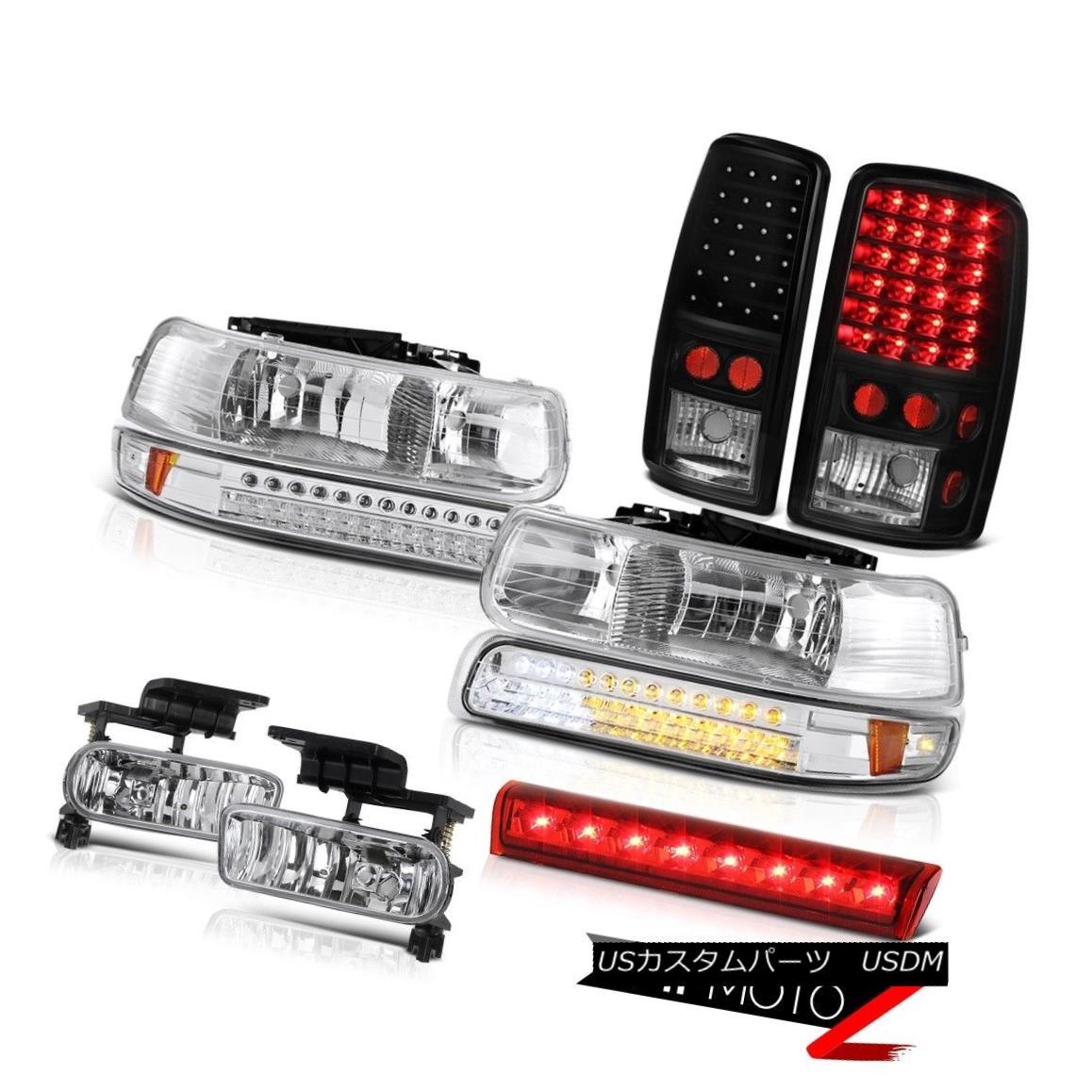 テールライト 2000-2006 Tahoe 4X4 Third brake light chrome fog lights rear Headlamps Assembly 2000-2006タホ4X4第3ブレーキライトクロームフォグライトリアヘッドランプアセンブリ