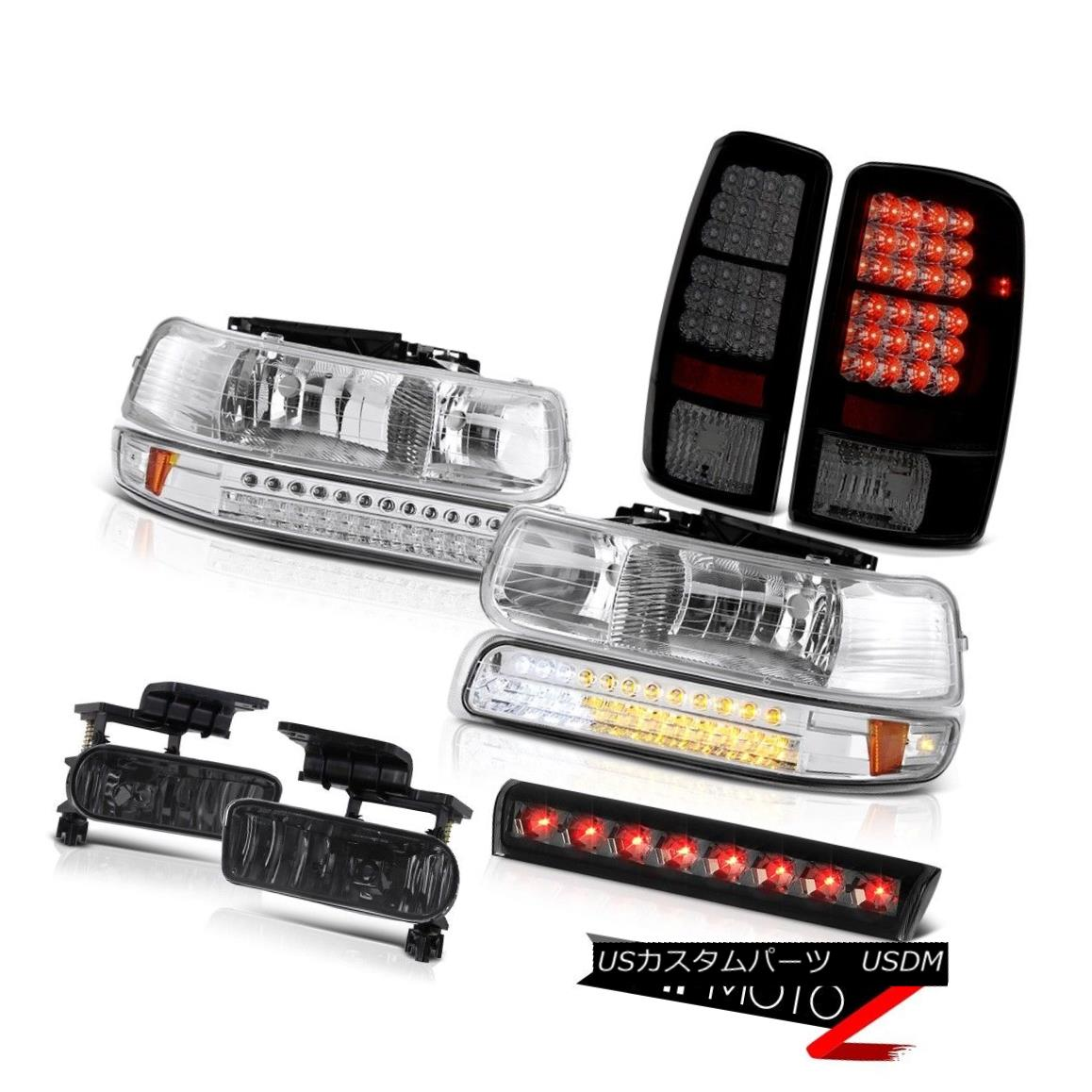 テールライト 00-06 Chevy Tahoe LT Smokey 3rd brake lamp fog lights tail lamps Headlights LED 00-06 Chevy Tahoe LT Smokey第3ブレーキランプフォグライトテールランプヘッドライトLED