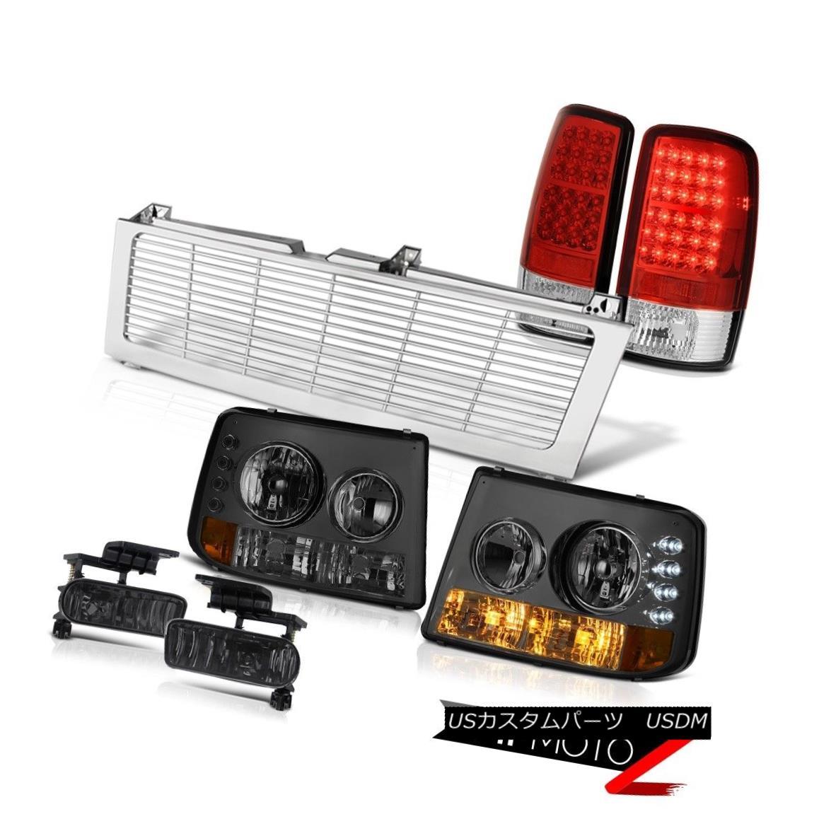 テールライト Smoke Bumper+Headlamp LED Taillight Fog Chrome Grille 00 01 02 03 04 05 Suburban スモークバンパー+ヘッドラム p LEDテイルライトフォグクロームグリル00 01 02 03 04 05郊外