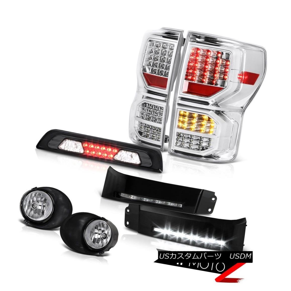 テールライト 2007-2013 Toyota Tundra Platinum Rear Brake Lamps DRL Strip Fog Roof Cab Light 2007-2013トヨタ・トンドラ・プラチナリア・ブレーキ・ランプDRLストリップ・フォグ・ルーフ・キャブ・ライト
