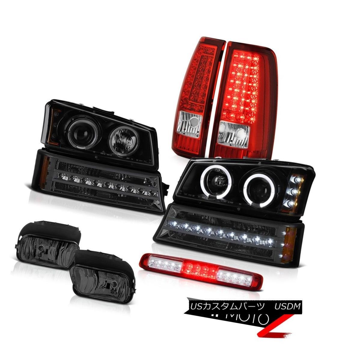 テールライト 03 04 05 06 Silverado Third Brake Light Fog Lamps Rear Parking Light Headlamps 03 04 05 06シルバラード第3ブレーキライトフォグランプリアパーキングライトヘッドランプ