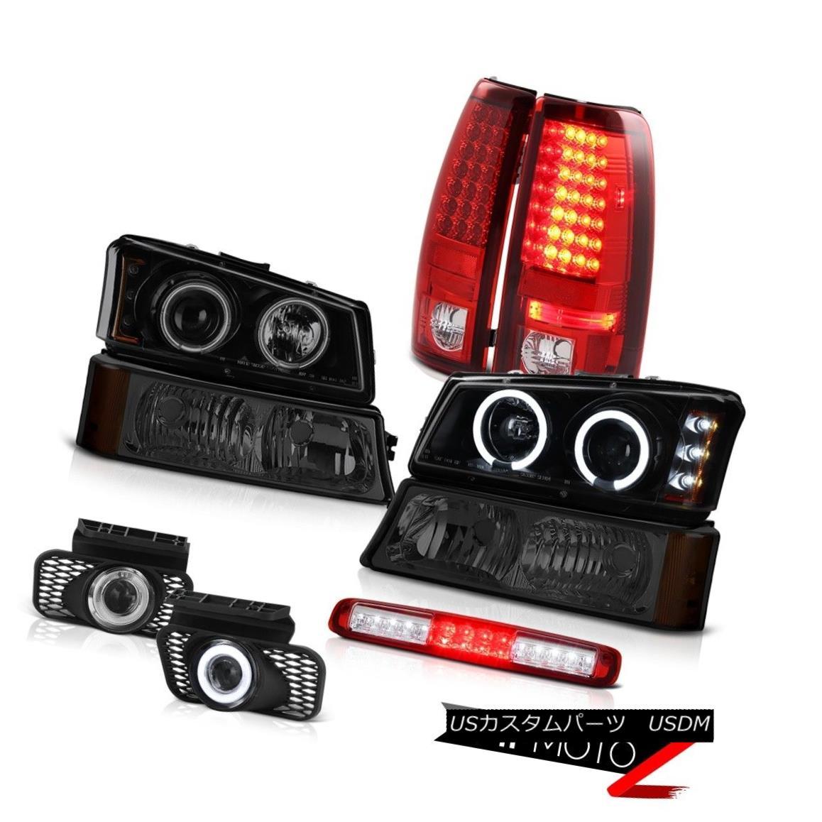 テールライト 03-06 Silverado Smokey Signal Light 3RD Brake Lamp Foglights Headlamps Taillamps 03-06 Silveradoスモークシグナルライト3RDブレーキランプフォグライトヘッドランプテールランプ